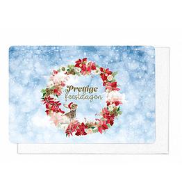Enfant Terrible Enfant Terrible 5 cards + enveloppes 'Prettige feestdagen'