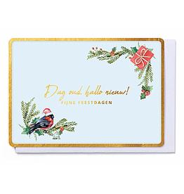 Enfant Terrible Enfant Terrible card  + enveloppe 'Dag oud, hallo nieuw!'