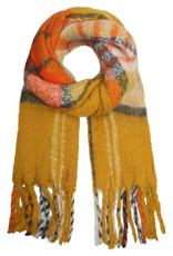 With love Scarf 'keep me warm'  yellow