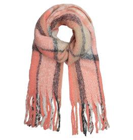 With love Scarf 'keep me warm'  pink