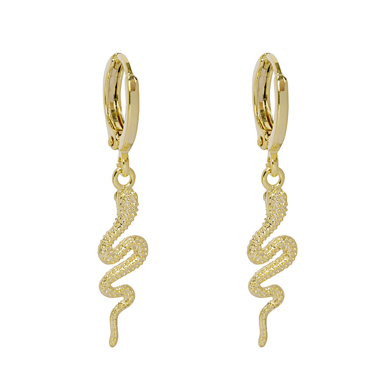 With love Earrings special snake