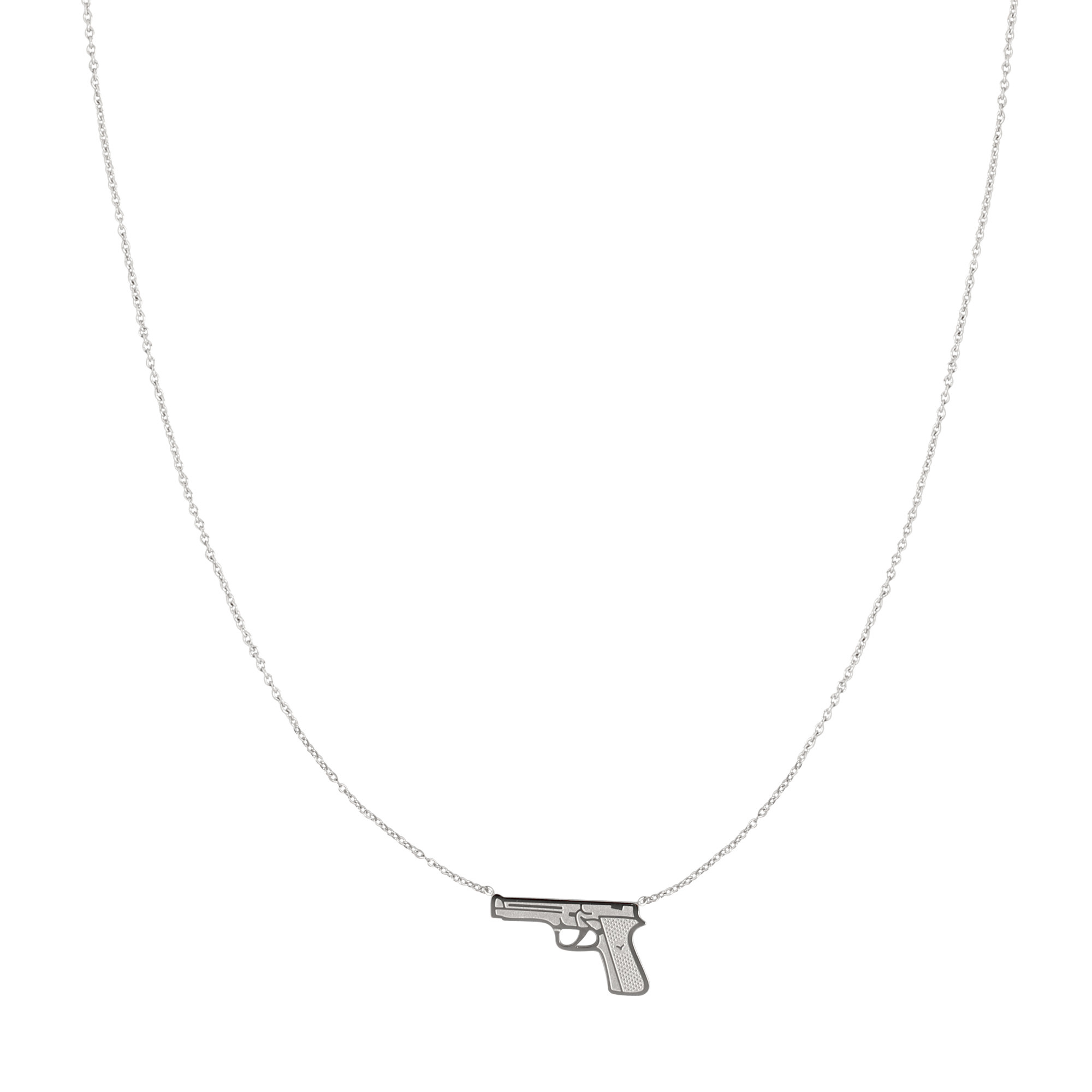 With love Necklace Dressed to kill silver