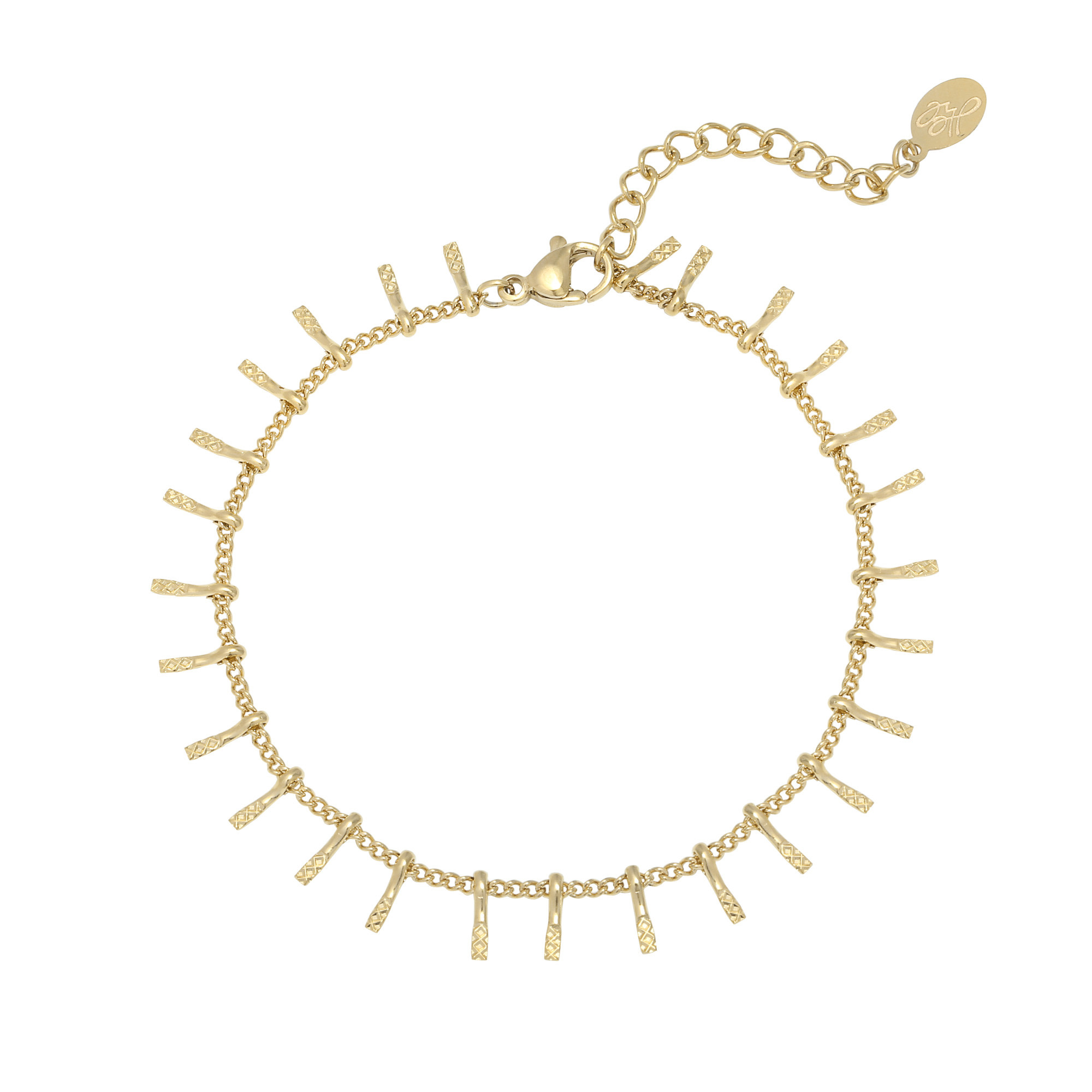 With love Bracelet gold - Go to the bar