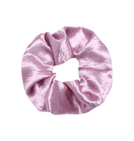 With love Scrunchie satin - pale pink