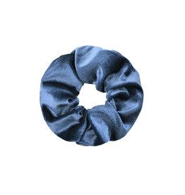 With love Scrunchie velvet - blue