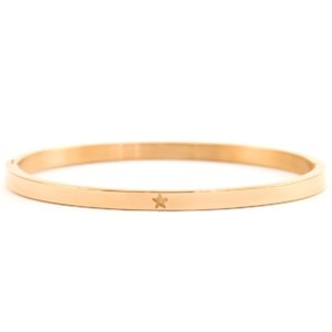 With love With love bangle rosé star