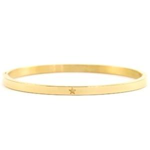 With love With love bangle gold 'star'