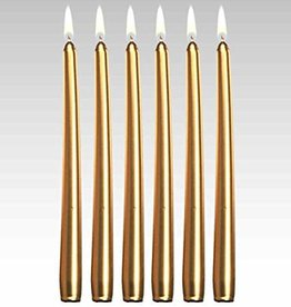 Florissima Table candle gold 250 x 23