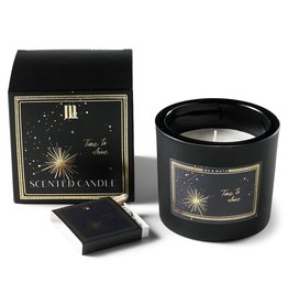 Me & Mats Luxury scented candle  + matches - Bue star