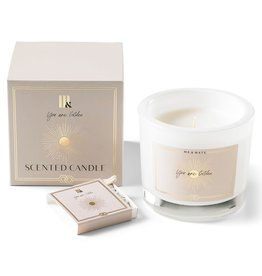Me & Mats Luxury scented candle  + matches - You're golden