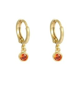 With love Earrings peachy - gold orange