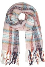 With love Scarf cosy winter navy