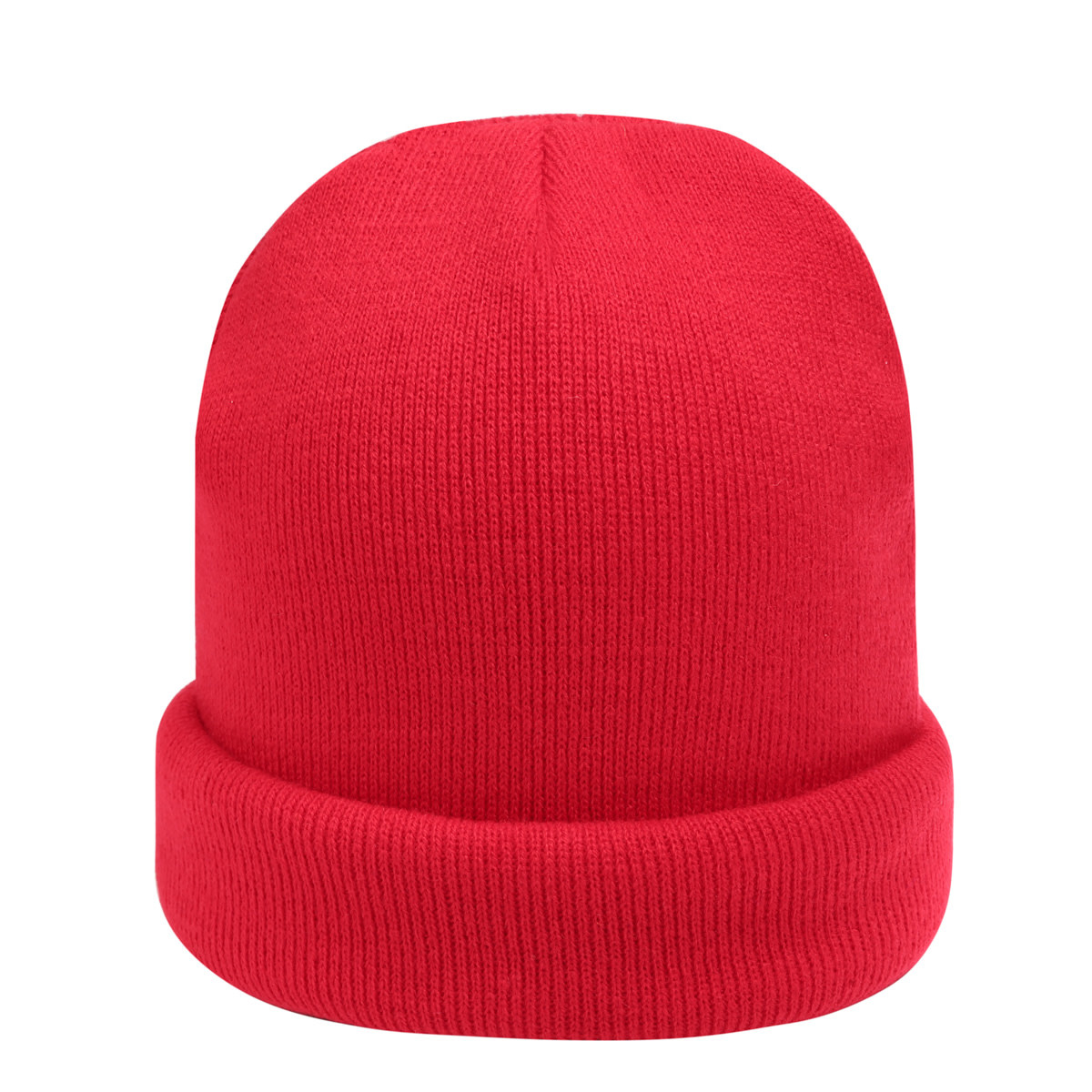 With love Beanie rainbow colors - red