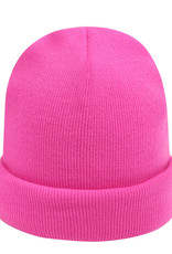 With love Beanie rainbow colors - pink
