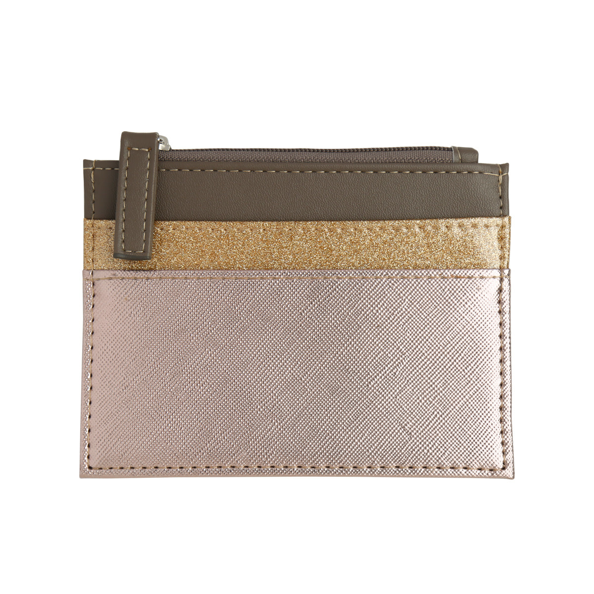 With love Wallet trio gold