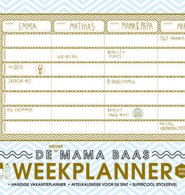 Lannoo Uitgeverij De nieuwe Mama Baas weekplanner