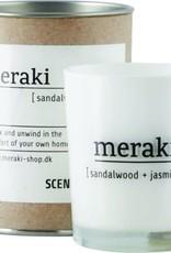 Meraki Meraki scented candle sandal wood & jasmine 5.5 x 6.7 cm
