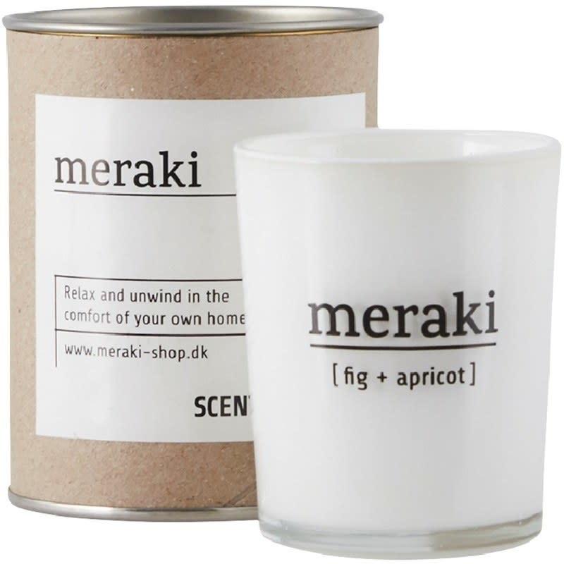 Meraki Meraki scented candle fig & apricot 5.5 x 6.7 cm