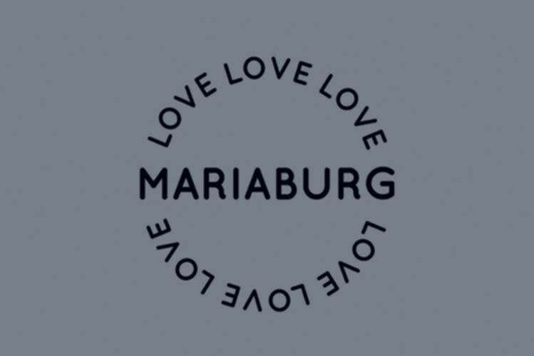 Mad About Mats Door mat scraper 50 x 75 cm 'Love Mariaburg'