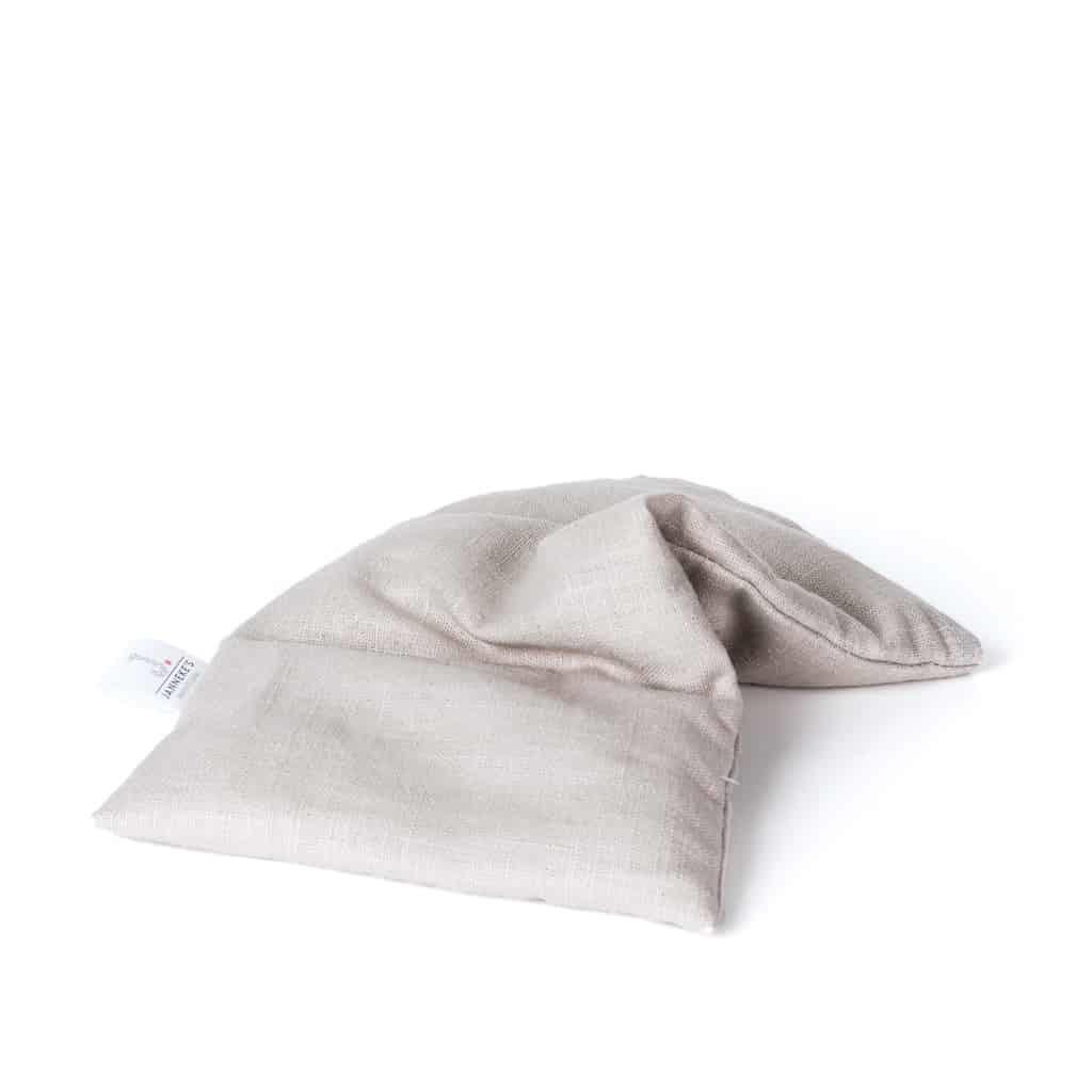 Janneke's warmtesjaal Janneke's Warmtesjaal linnen oogkussen zand