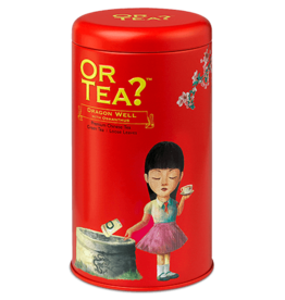Or Tea? Dragon well with osmanthus