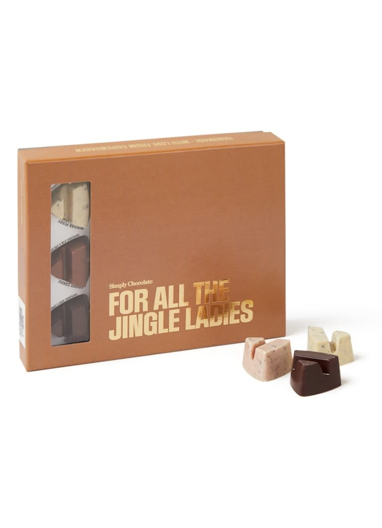 Simply Chocolate Simply Chocolate 12 pcs. 'For all the jingle ladies'