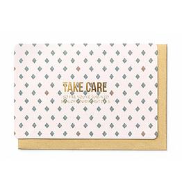 Enfant Terrible Enfant Terrible card  + enveloppe 'take care'