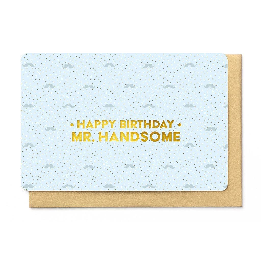 Enfant Terrible Enfant Terrible card + enveloppe 'happy birthday mr. handsome'