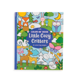 Ooly Color-in book 'Little cozy critters'