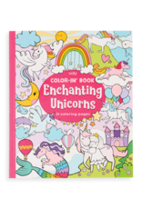 Ooly Color-in book 'Enchanting unicorns'