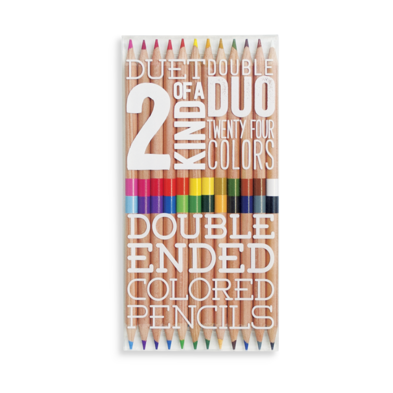 Ooly 12 double-ended colored pencils