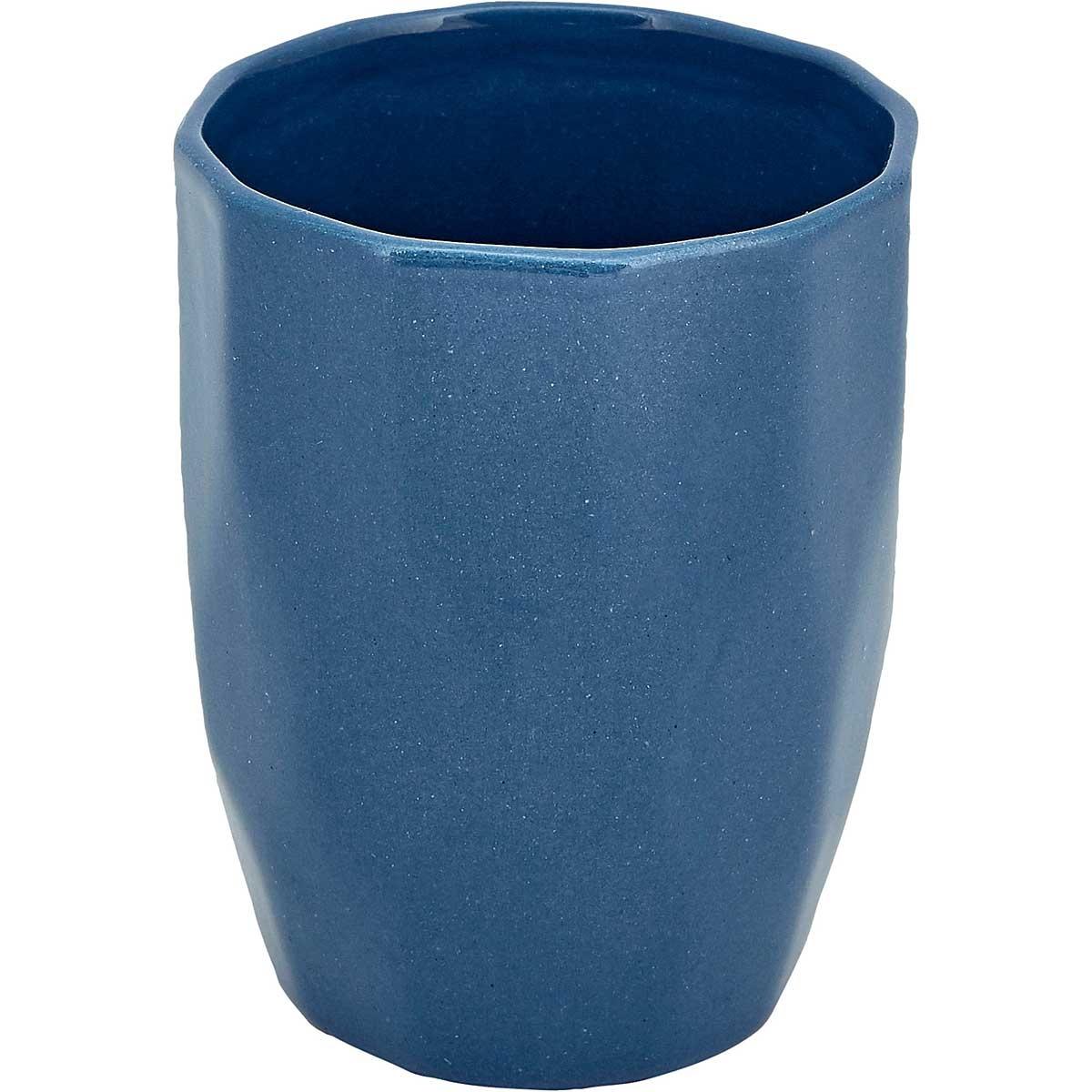 Liv Interior Mug cubic - indigo blue 8x12 cm