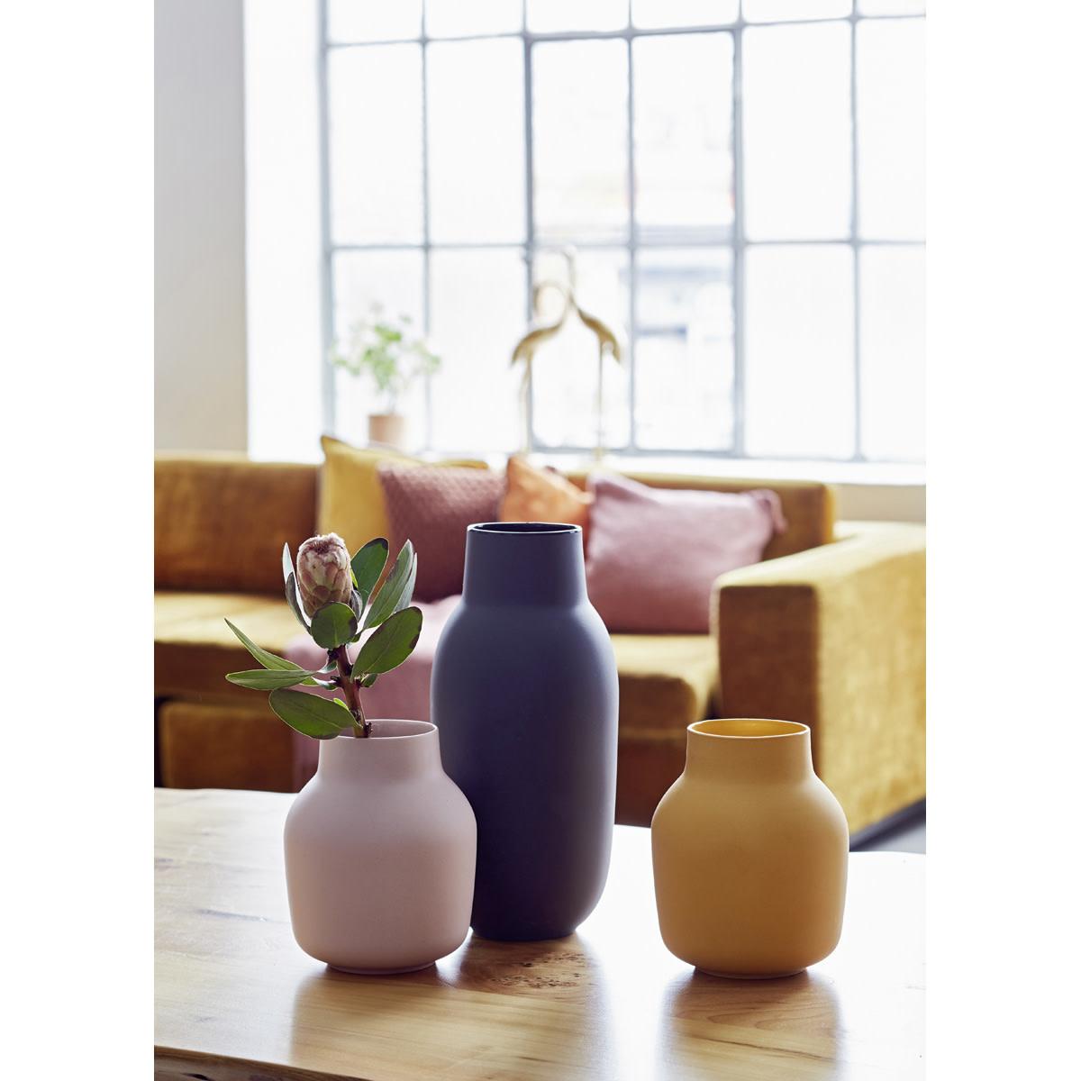 Liv Interior Vase MIO black 14x32 cm