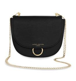 Katie Loxton Katie Loxton Lucia saddle bag - black 19x23x9.5 cm