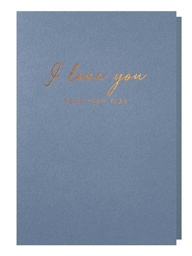 Papette Papette greeting card + enveloppe ' I love you yeah yeah yeah'