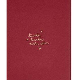 Papette Papette XMAS burgundy 'Twinkle, twinkle little star'