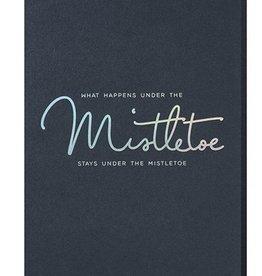 Papette Papette XMAS navy 'What happens under the mistletoe'