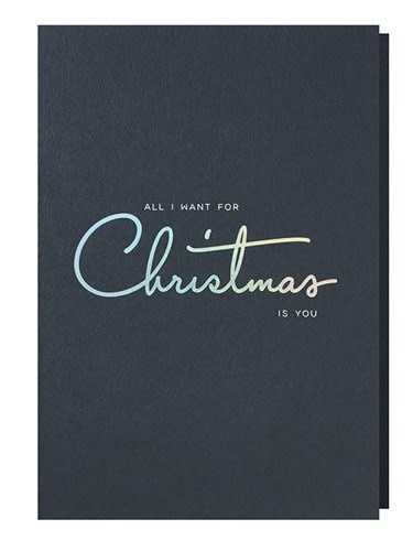 Papette Papette XMAS navy 'All I want for Christmas is you'