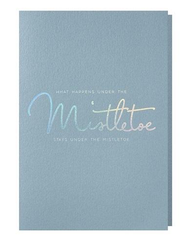 Papette Papette XMAS mint 'What happens under the mistletoe'