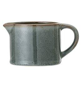 Bloomingville Pixie milk jug - green stoneware 8.5 x 7 cm