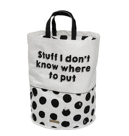 Bloomingville Storage bag cotton - Stuff I don't know where to put 42 x 54 cm