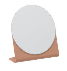 Bloomingville Mirror orange metal 16 x 14.5 cm