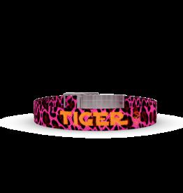 Wonderbuckle Wonderbuckle woven bracelet 'Tiger'