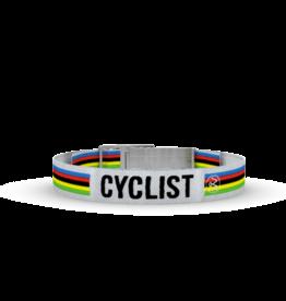 Wonderbuckle Wonderbuckle woven bracelet 'Cyclist'