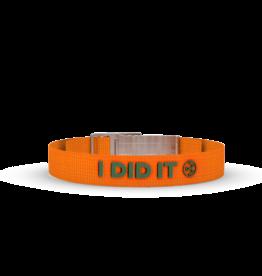 Wonderbuckle Wonderbuckle sillicone bracelet 'I did it'