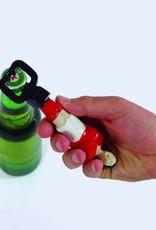 DOIY Football bottle opener - red