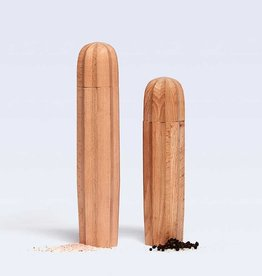 DOIY Cacti natural wood - salt & pepper set