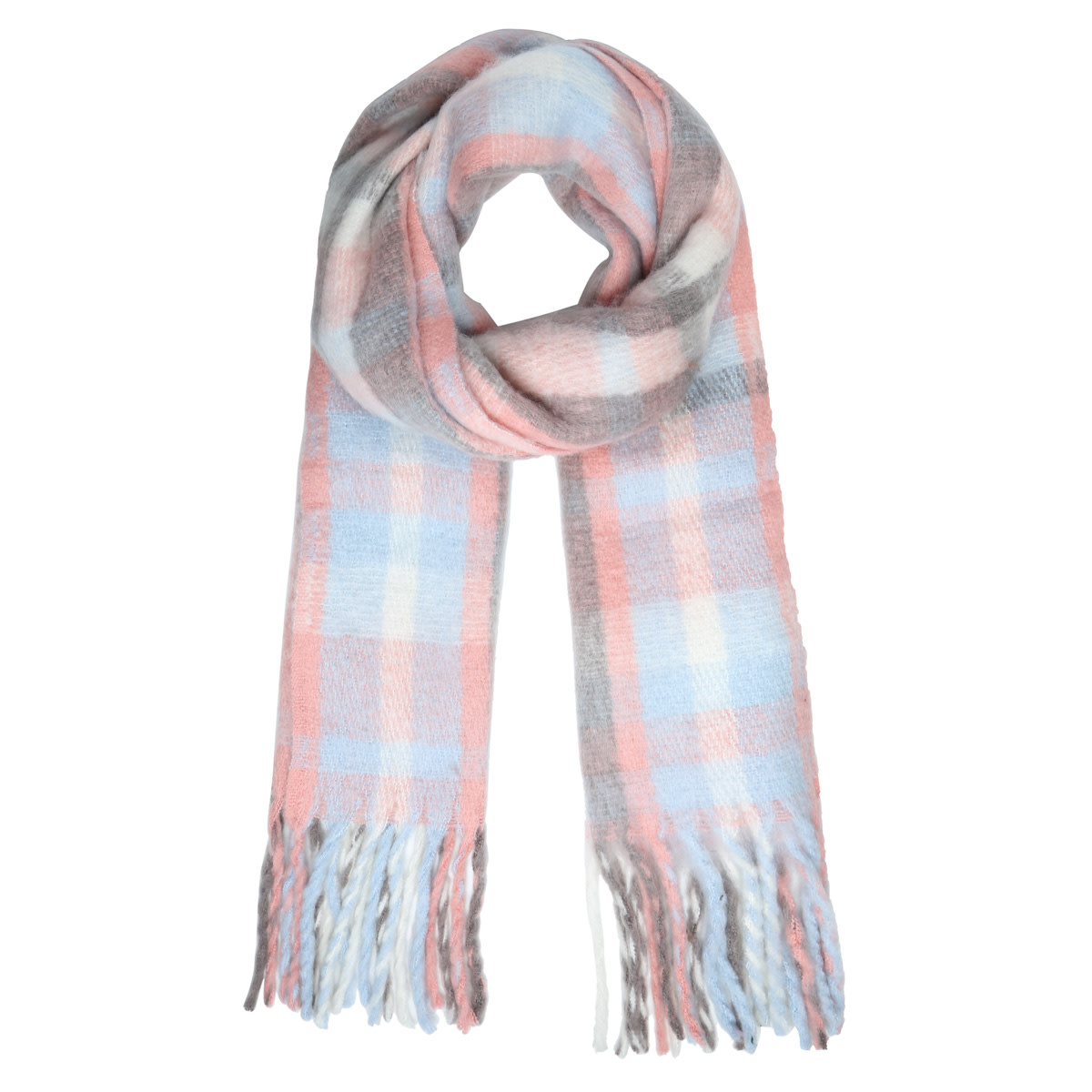With love Scarf warm vibes - pale pink