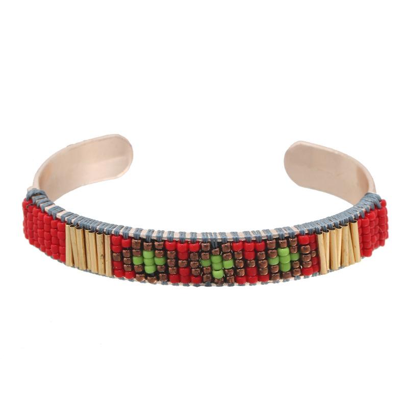 Bracelet Lea gold - red