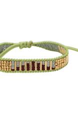Casa de Chi Bracelet wave - green